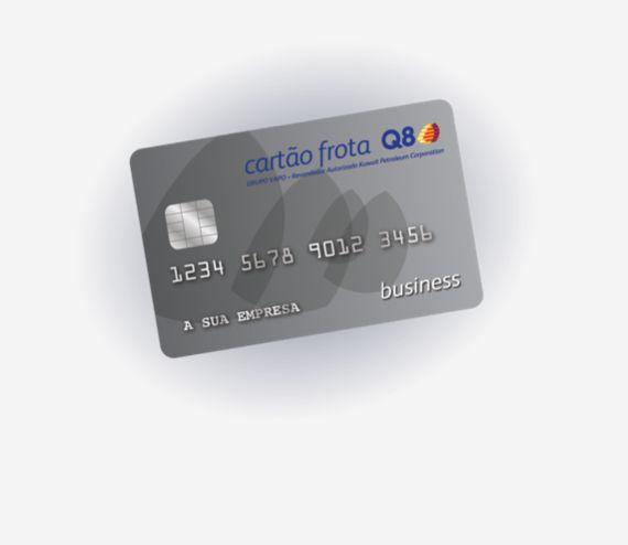 Cartão Frota Q8